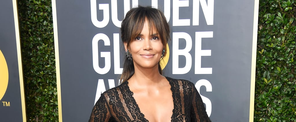 Halle Berry Dared to Wear a Risky Minidress at the 2018 Golden Globes