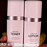 Step 1: Toner and Lotion