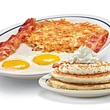 Crème Brulée Pancake Combo