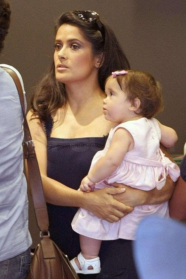 Mini Me: Salma Hayek and Valentina Pinault