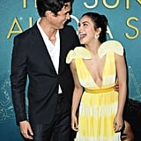 Camila Mendes and Charles Melton at The Sun Is Also a Star