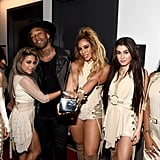 Pictured: Fifth Harmony and Ty Dolla Sign