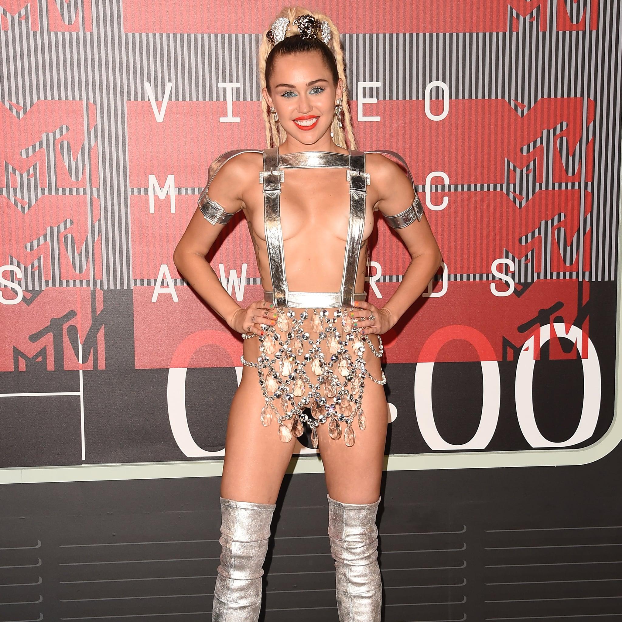 Miley Cyrus S Memorable Vmas Outfits Popsugar Fashion