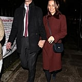 Pippa Middleton and James Matthews in London December 2018