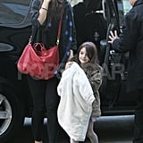 Katie Holmes and Suri Cruise were out for a day of shopping.