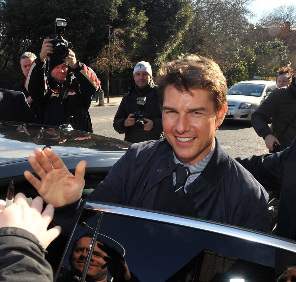 Tom Cruise Leaves Austria For Ireland — and a Visit to the Home of Guinness!
