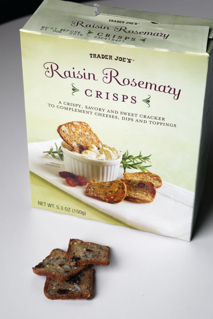 Raisin Rosemary Crisps