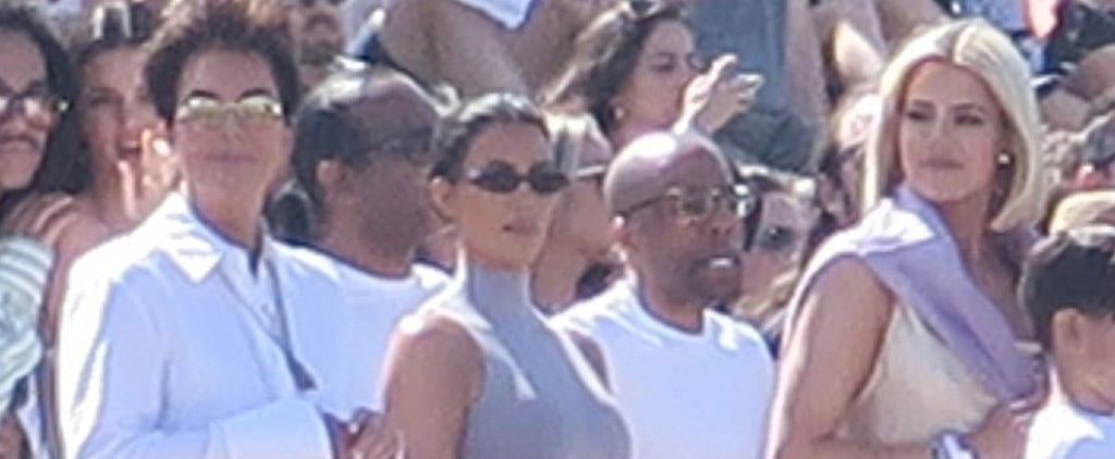 The Kardashians at Kanye West's Coachella Sunday Service