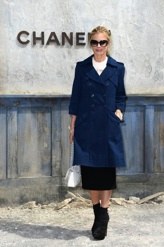 Laura Vailey at the Chanel haute couture show.