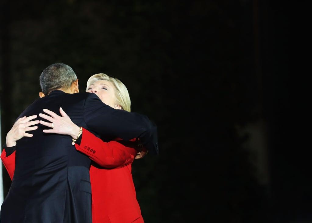 Obamas Campaign For Hillary Clinton in Philadelphia | Photos