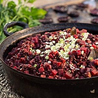 Roasted Beetroot Lentil Salad