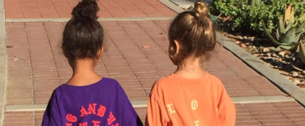 Best Friends North West and Penelope Disick