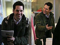 Photos of Paul Rudd and Jack Nicholson on the Set of How Do You Know? In DC