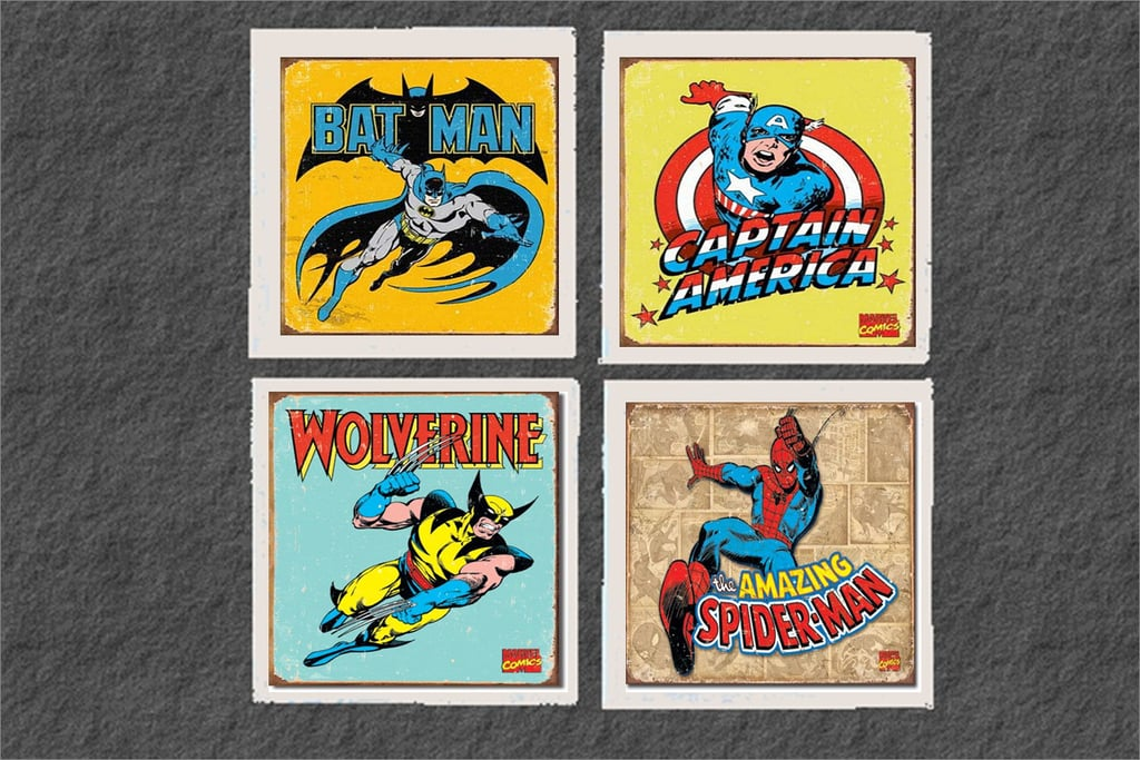 Vintage Coasters ($15 For 4)