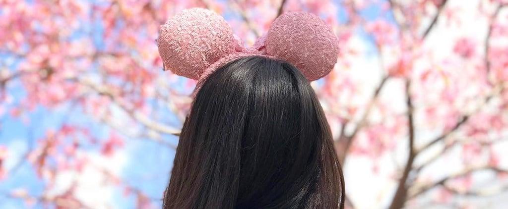 Disney Millennial Pink Mouse Ears and Spirit Jersey