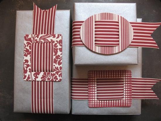 Wrap Star! Letterpress Buckle With Ribbon