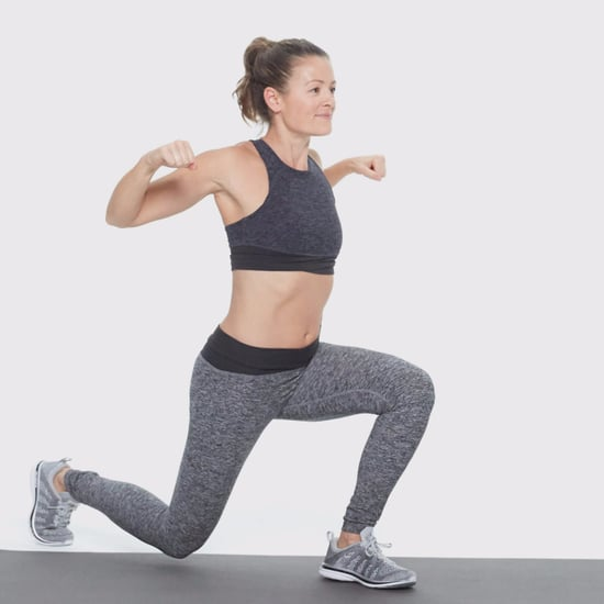 How to Do a Lunge With Shoulder Squeeze