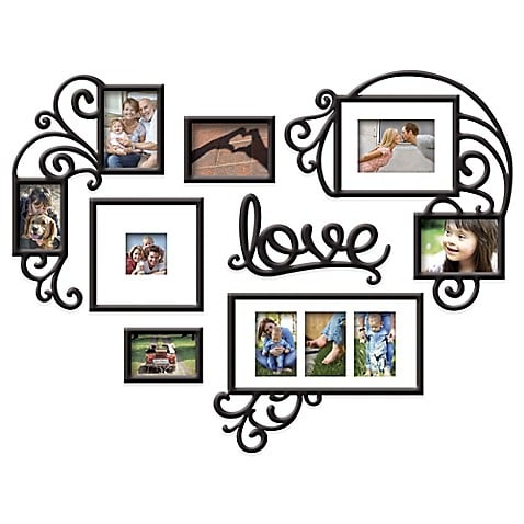 "Wallverbs 7-Piece ""Love"" Photo Frame Set"