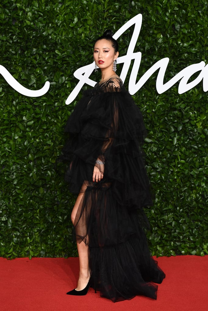 Betty Bachz at the British Fashion Awards 2019 in London