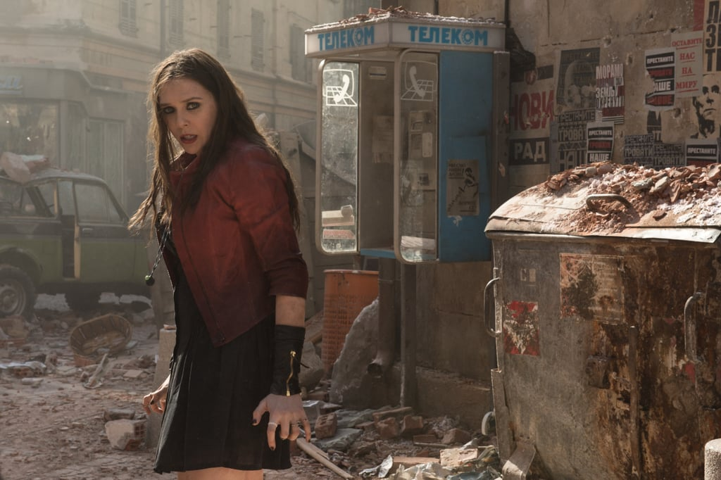 Avengers: Age of Ultron is coming in May, the trailers keep reminding us, and equally exciting are the official pictures. There was that awesome poster from Comic-Con, the new poster, and those set pictures, but these images are the real, clear look at new characters Scarlet Witch and Quicksilver, played by Elizabeth Olsen and Aaron Taylor-Johnson. Of course, there are the Avengers you already know and love, like Thor, Iron Man, and Captain America. Check them out, along with our on-set interviews with director Joss Whedon and cast members Robert Downey Jr. and Mark Ruffalo.