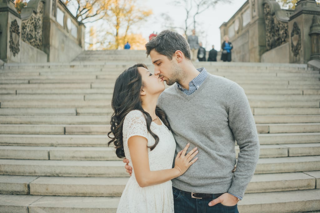 Central Park Engagement Shoot