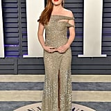 Isla Fisher at the 2019 Vanity Fair Oscar Party