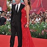 Cindy Crawford and Rande Gerber at the Venice Film Festival.