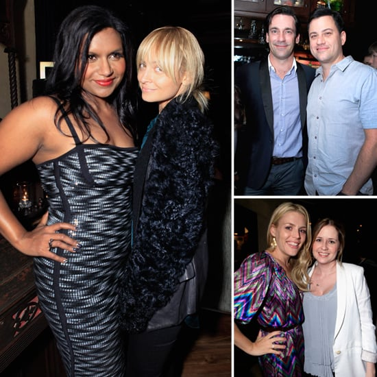 """Mindy Kaling Hangs With Nicole and Jon, Shares Her """"Tongue in Cheek"""" Relationship Advice"""
