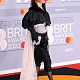 FKA Twigs on the 2020 BRIT Awards Red Carpet