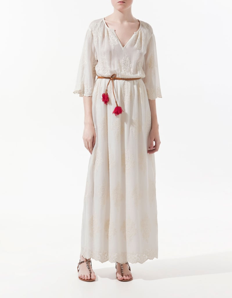 Zara Embroidered Dress ($90)