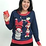 Keg Stand Santa
