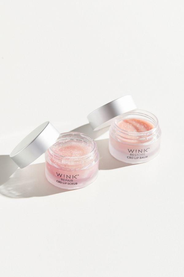 W!nk CBD Lip Scrub + Balm Duo