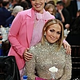 America Ferrera and Jennifer Lopez at the 2020 Spirit Awards