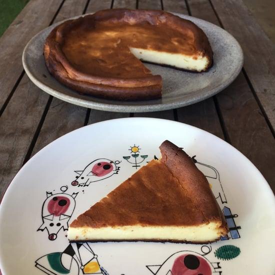 MasterChef Chris Badenoch's Basque Cheesecake Recipe