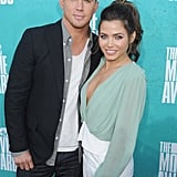 Channing Tatum and Jenna Dewan together at the MTV Movie Awards.