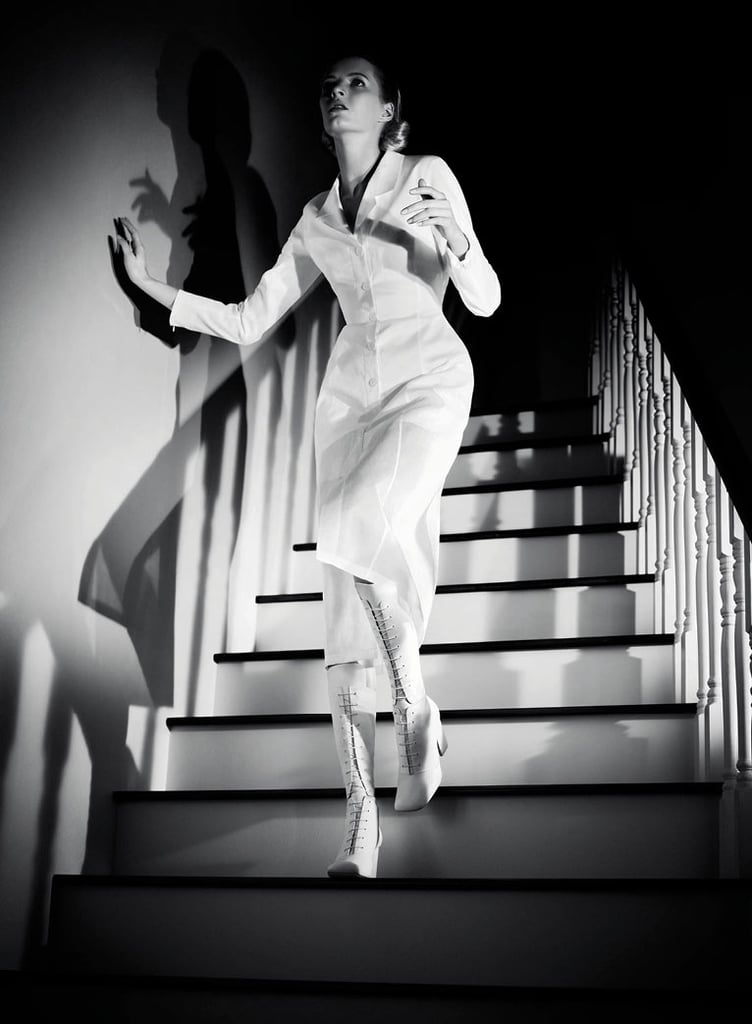 Jil Sander's Spring ads evoke a film noir mood.  Source: Fashion Gone Rogue