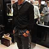Orlando Bloom celebrated Bremont.