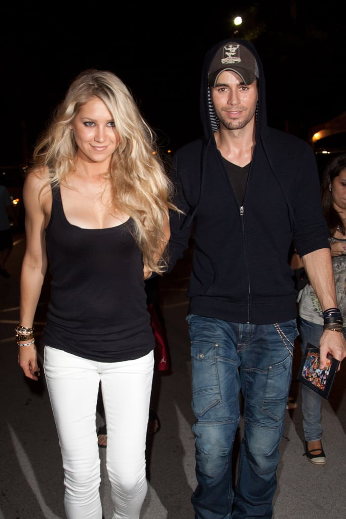"Enrique Iglesias and Anna Kournikova have been dating since 2001. The two met when Anna was featured in Enrique's music video for ""Escape"" in the same year. The couple briefly separated in 2013 but got back together and have been going strong ever since. They have settled down in Miami and continue to do their own thing while staying quiet about their relationship, which is probably one of the secrets to how they have been together for so long. Adding another layer to their super private relationship, the two welcomed twins, Nicholas and Lucy, in December 2017. The public didn't even know Anna was pregnant until the news broke she had given birth.  She's a badass former professional tennis player, he has the voice of an angel, and together they make the couple of our dreams. It also doesn't hurt that both of them are smoking hot (cue the fan we need to cool us down). They are adorable, and whenever we see them out and about, our hearts skip a beat.      Related:                                                                                                           Proof That Enrique Iglesias's Biggest Fan Is (and Always Has Been) Anna Kournikova"