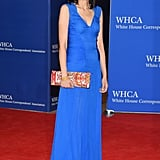 Huma Always Accessorizes With a Unique Clutch on the Carpet