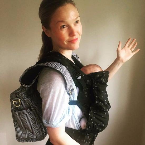 Julia Stiles Mommy-Shamed Over Baby Carrier Instagram Photo
