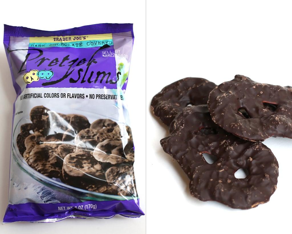 Trader Joe's Dark-Chocolate-Covered Pretzel Slims ($3)