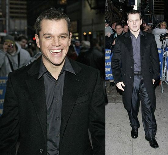 Matt Damon Does Matthew McConaughey