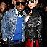 Kanye West and Amber Rose in 2009