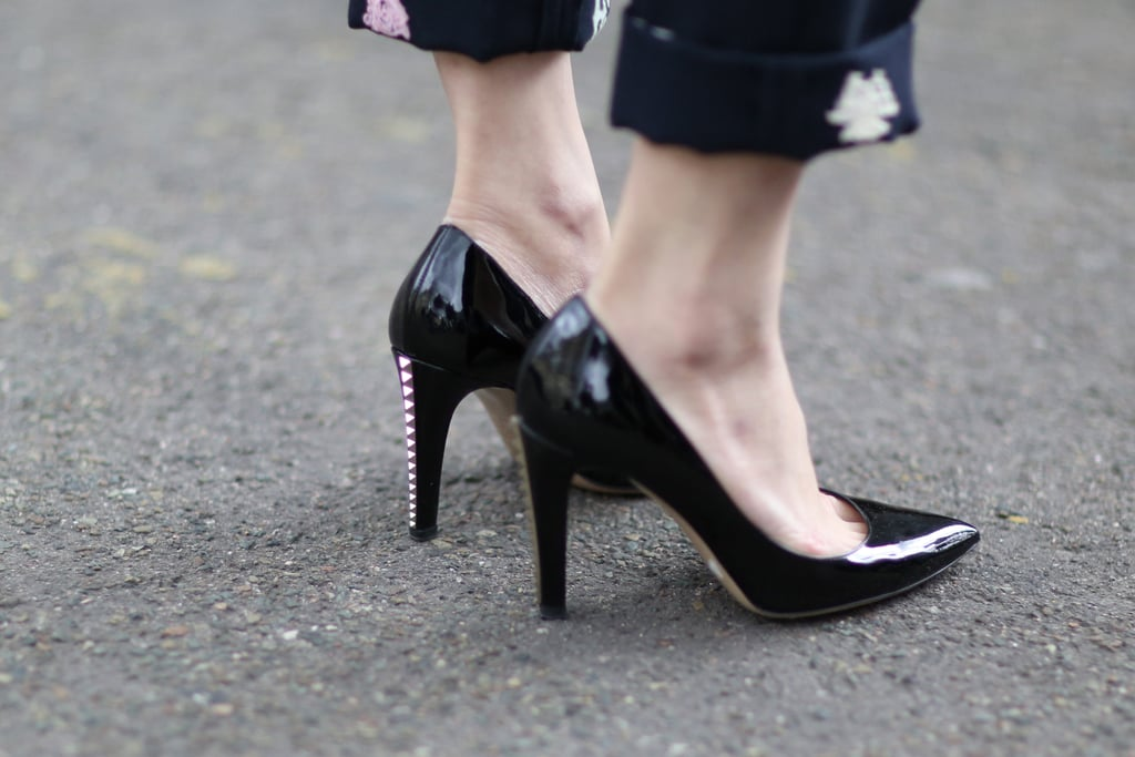 The heels on these babies are a study in amazing yet subtle details.