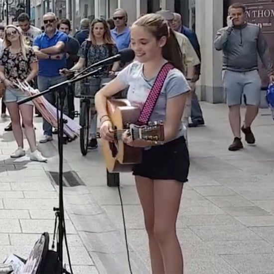 Young Girl Singing Ed Sheeran Song in Ireland Video