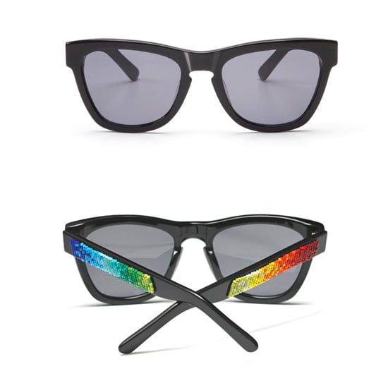 We love that Westward Leaning's cool sunglasses always help support charitable causes, but this Castro pair ($325) was especially designed in support of the LGBT community, and $10 from every pair will go toward making schools safe for all children, regardless of gender or sexual orientation.