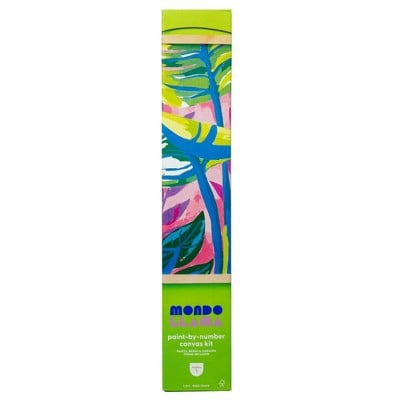 Mondo Llama Paint-By-Number Canvas Kit Tropical