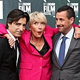 With Noah Baumbach and Adam Sandler