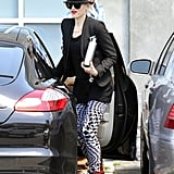Gwen Stefani Logs a Stylish Day in the Studio With No Doubt