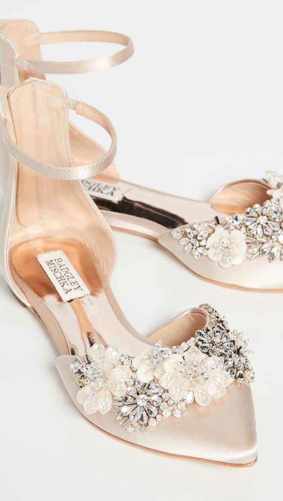 15 Comfortable Flats That Are Beautiful Enough to Wear on Your Wedding Day